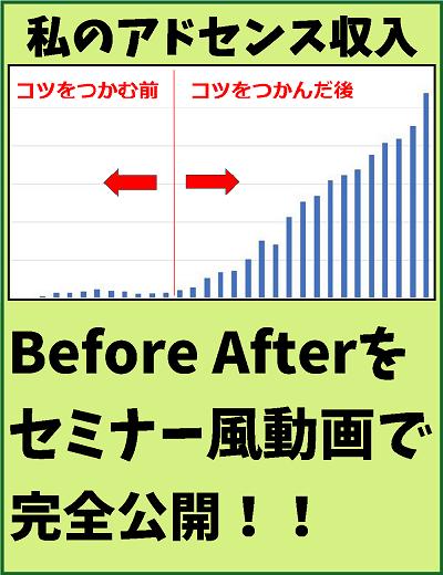 アドセンス収入Before After大公開!